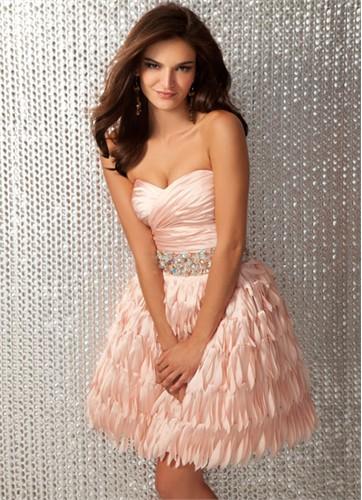 2012 Clarisse Short Prom Dress 17133