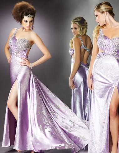 Mac Duggal Lilac Prom Dress 4411
